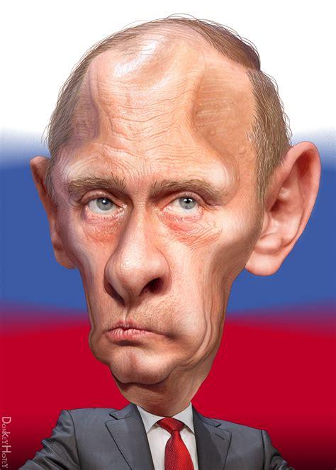 vladimir putin caricature vladimir vladimirovich putin