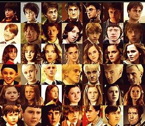 Harry Potter images Characters over the years wallpaper ...