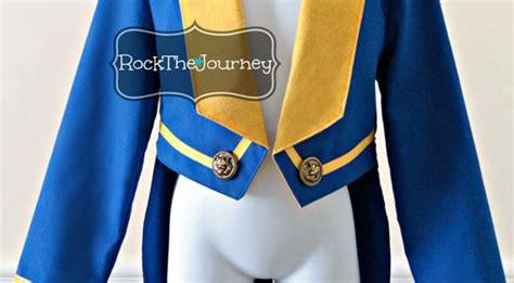 beasty boy beauty   beast costume blue tuxedo