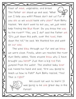 homophone reading hunt passages  teaching  jackie tpt