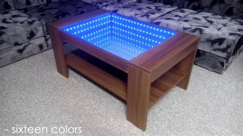 infinity mirror coffee table   doovi