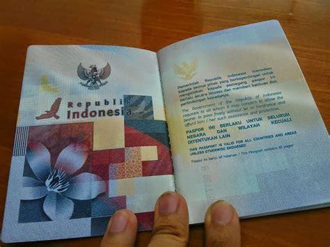 kelebihan wajah baru paspor indonesia