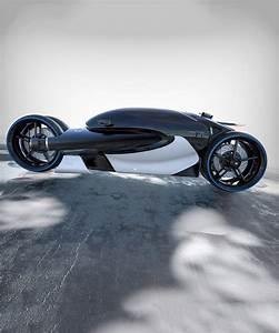 Gauvin Automobiles : romain gauvin designs futuristic four wheel bugatti 100m concept motorbike ~ Gottalentnigeria.com Avis de Voitures