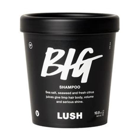 Big Shampoo Bottled Shampoos  Ee  Lush Ee  Smetics