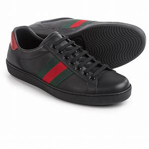 Gucci Ace Low-Top Sneakers (For Men) - Save 45%