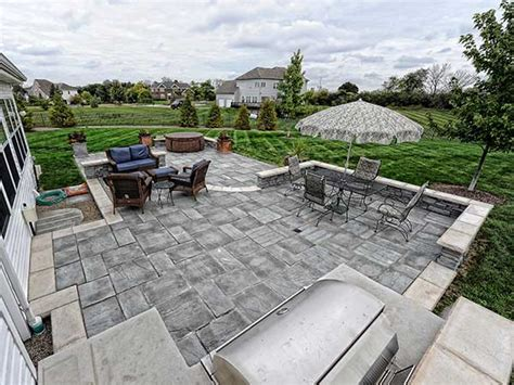 Unilock Patio Pavers - lake county il unilock patio pavers brick paver patios
