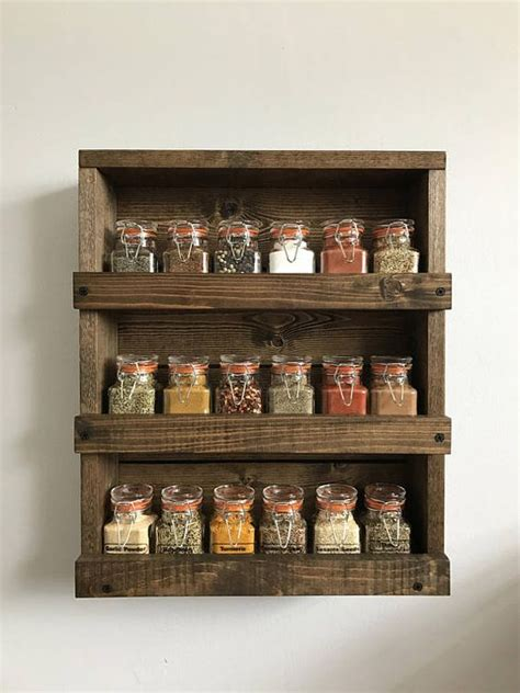 In Wall Spice Rack by 25 Best Ideas About Wall Mounted Spice Rack On