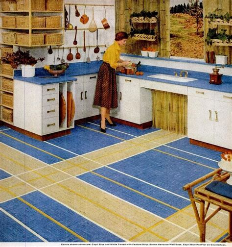 vintage home style vinyl floor tiles  square patterns