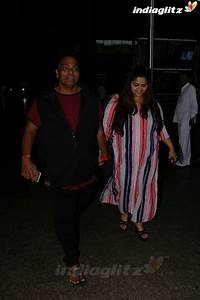 Events - Ganesh Acharya With Wife Spotted at Airport Movie ...