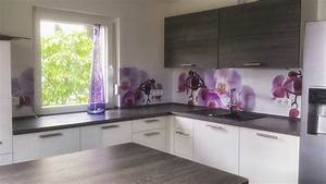 Küchen Wandpaneel Glas : die individuelle k chenr ckwand f r deine k che mit tollen motiven ~ Frokenaadalensverden.com Haus und Dekorationen