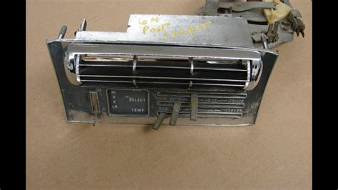 electronic throttle control 1965 pontiac tempest navigation system 1964 gto lemans ac control and vent 389 326 air conditioning pontiac tempest tripower youtube
