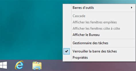 raccourci bureau windows 8 comment activer le bureau de windows 8 au démarrage