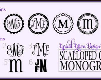 circle monogram font   circle block monogram font   monogram fonts