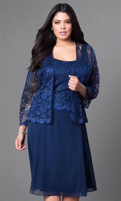 knee length  party dress  lace jacket promgirl