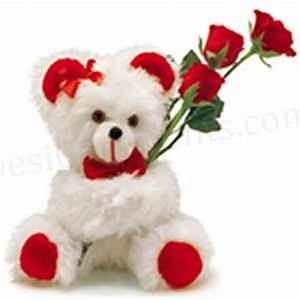 Cute Kids and Cute Babies: Cute Teddy Bear With Red Roses