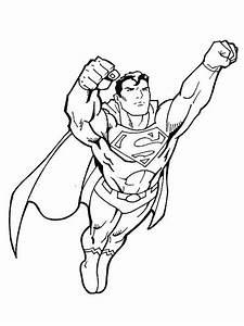 9 dessins de coloriage superman a imprimer gratuit a imprimer With mini flasher