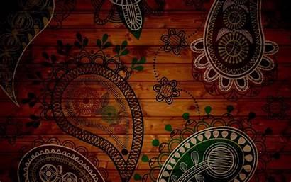 Paisley Indian Wallpapers Desktop Amazing Wood Designs