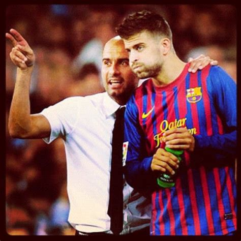 Josep 'pep' guardiola is a football manager, known as being one of the greatest tacticians in the history of the sport. Gerard Pique. Pep Guardiola. Messi, Barca, fcb