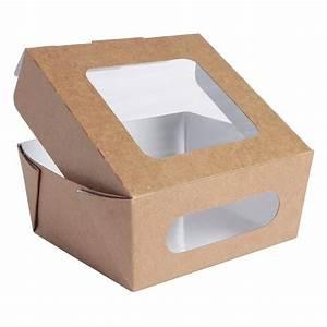 Boite En Carton Avec Couvercle : bo te carton avec couvercle fen tre 1000 ml paquet de ~ Dode.kayakingforconservation.com Idées de Décoration