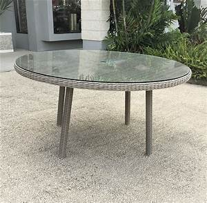 Round, Out, Door, Dining, Table, 6, Seater
