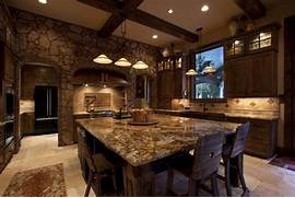 Rustic Kitchen Designs by Gallery For Rustic Open Kitchen Designs