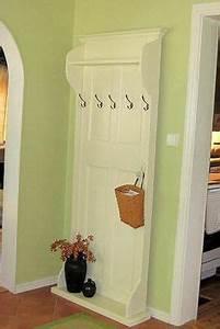 Alte Tür Als Garderobe : t r als garderobe door hall trees furniture diy home decor ~ A.2002-acura-tl-radio.info Haus und Dekorationen