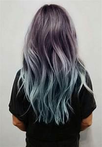 black, dye hair, girl, girls, green, grunge, hair, hair ...