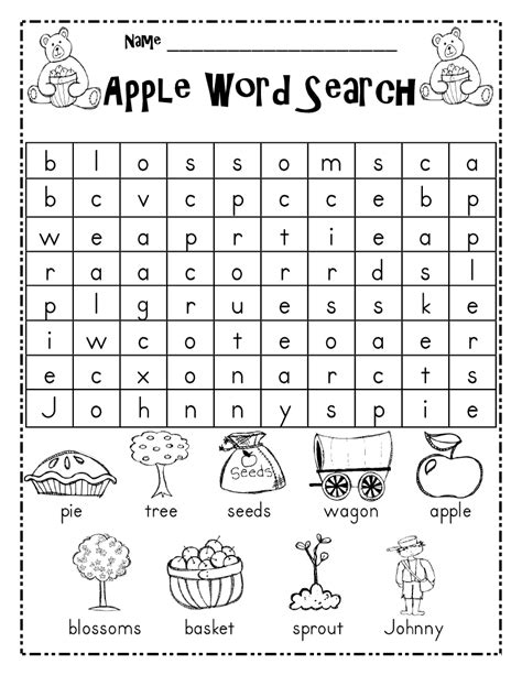 free grade word search puzzles worksheets for all