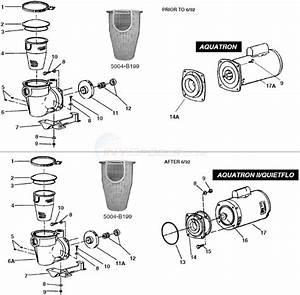 Pentair    Purex Quietflo  U0026 Aquatron Parts