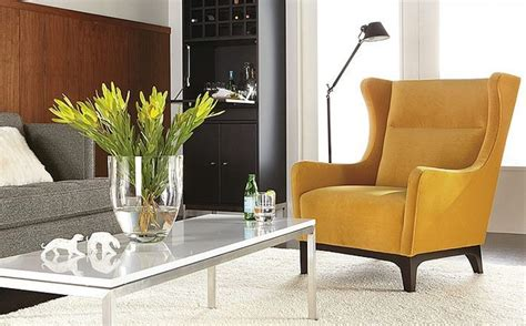 marcel accent chair room by r b modern living room