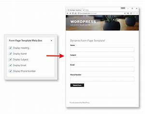 dynamic page templates in wordpress part 3 3bluefrogs With if page template wordpress