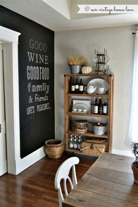Стіни на яких можна писати крейдою: креативні ідеї для ...