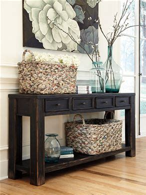 how to decorate a sofa table behind a couch sofa table for the entry way or behind the couch