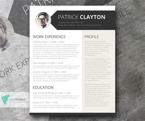 resume templates  architects archocom