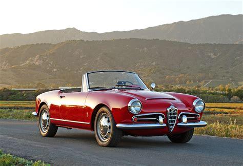 1965 Alfa Romeo Giulia Spider Veloce  Goodman Reed Motorcars