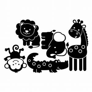 Stickers Animaux De La Jungle : stickers muraux animaux sticker enfants jungle ambiance ~ Mglfilm.com Idées de Décoration