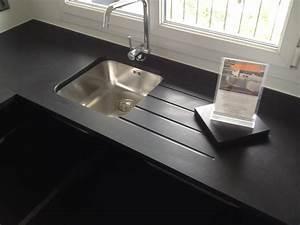 Plan De Travail Céramique : plan de travail granit quartz table en mabre paris ~ Dailycaller-alerts.com Idées de Décoration