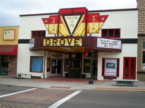 Grove Cinema by Theatre In The Grove In Forest Grove Or Cinema Treasures