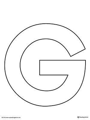 uppercase letter  template printable letter  crafts