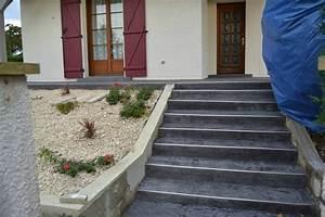 revgercom escalier en ciment exterieur idee With superb escalier exterieur leroy merlin 2 escalier exterieur quel materiau choisir