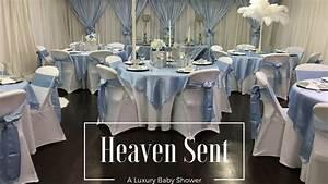 Heaven Sent Baby Shower Tips IdeasLuxury Events YouTube