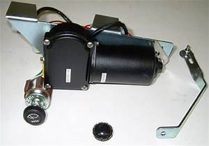 1954 1955 Electric Wiper Motor Kit 6 Volt Chevrolet Chevy