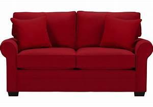 Cindy Crawford Home Bellingham Cardinal Sleeper Loveseat