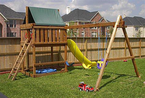 backyard playset plans amazing bedroom designs wooden swing set design plans 1448