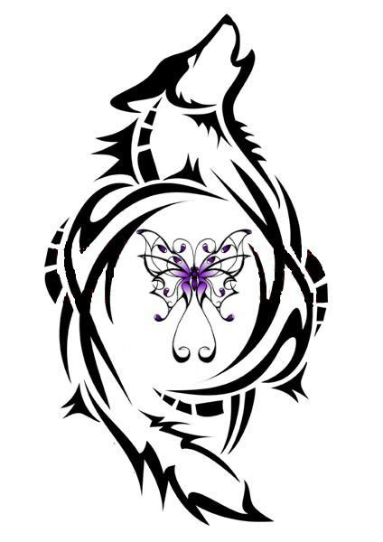 lupus butterflywoolf tattoos wolf paw print wolf