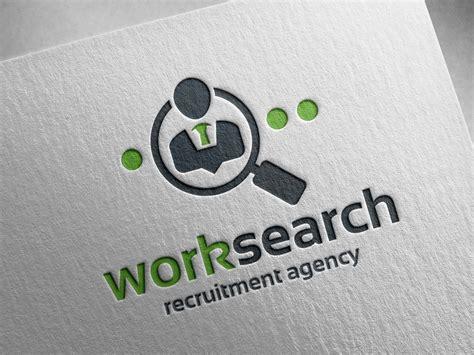 Recrutement Bureau D Ude Work Search Logo Template By Alex Broekhuizen Dribbble