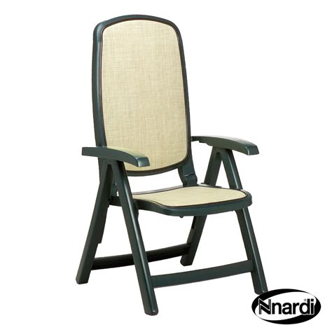 nardi delta set of 2 recliner patio chairs in green