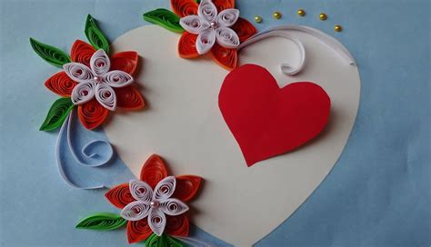 paper quilling    beautiful quilled wedding