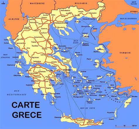 Carte Du Monde Grece Crete by Info Crete Carte Touristique