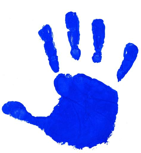 Handprint Clipart Handprint Outline Clipartion